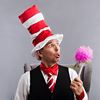 Rob Bridel is the Cat in the Hat