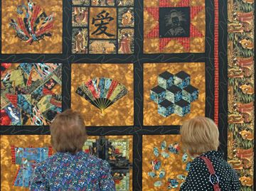 Halton Quilters Guild celebrates 40 years with Burlington show