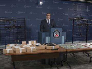 Toronto police news conference