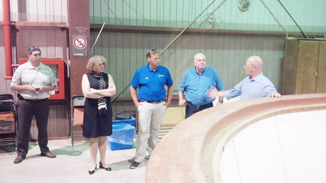 MPP visits Kemptville Campus with PC leader
