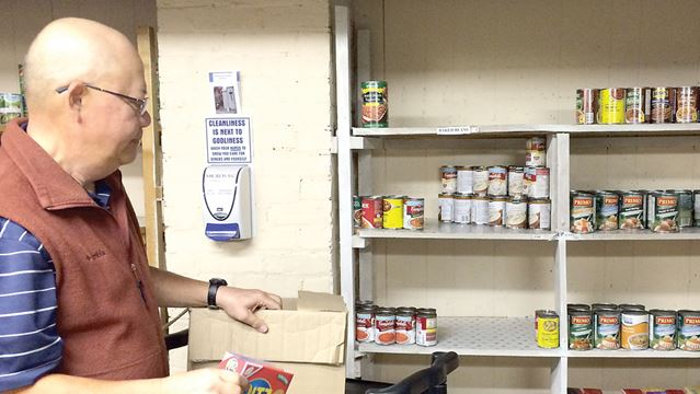 Uxbridge loaves and fishes food bank needs help to fill for Loaves and fishes food pantry