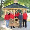 Craft Show donates gazebo to Meaford Cemetery