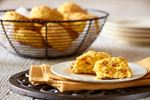 Squash, cheddar and chorizo biscuits add flavour to any meal