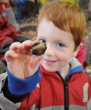 Barrie students exploring great outdoors at Forest School
