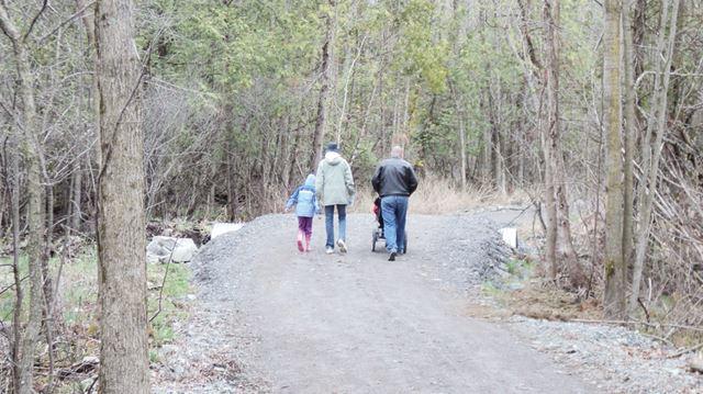 Hiking for hunger