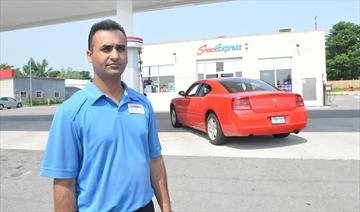 Gas station owner