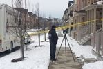 Police are investigating after a man was found dead in Ajax Feb. 11