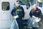 Midland-based police unit donates boots to Bayside Mission