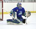 Washkurak makes 53 saves, Cobham nets OT winner as Burlington Cougars edge Patriots