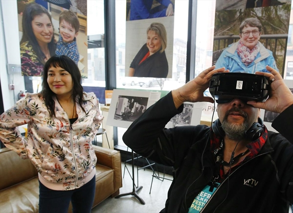 Peterborough film festival ReFrame offers movies in virtual reality