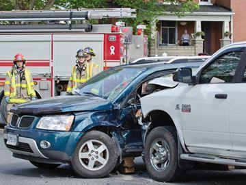 Crash at Hwy. 7A and Nestleton Road