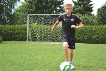 Rising soccer star heads to Real Madrid training camp– Image 1
