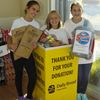 Sarah and Claire's Food Drive