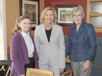 PC leadership candidate Christine Elliott campaigns in Cookstown