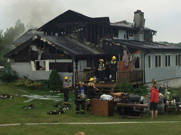 Fire causes $300,000 in damages to Singhampton home