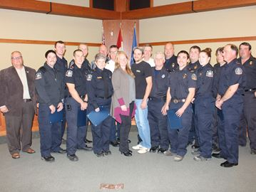 Clearview firefighters recognized for crevice rescue efforts