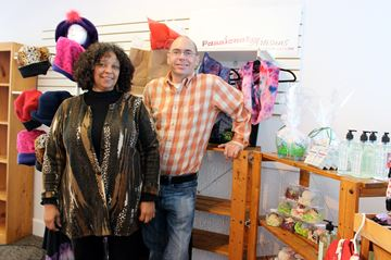 Lynda Prescod and Robert Jones of Passionate Artisans.