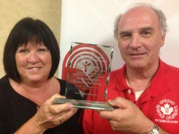 Special Olympics award