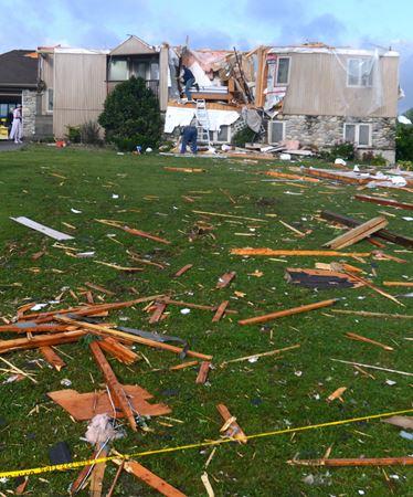 Reported tornado