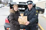 OPP collects food in Meaford