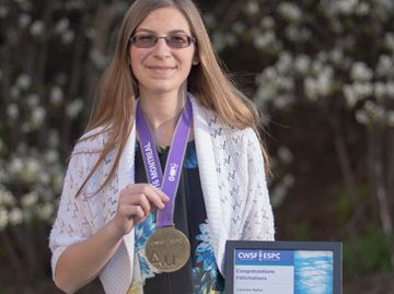 Burlington, Oakville students excel at national science fair in Montreal