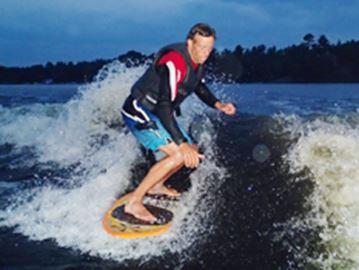Surf's up thanks to Oro-Medonte family