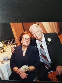 Teresa Pugliese and her husband, Antonio. Teresa died of coronavirus at Chartwell Aurora Long Term Care Residence on April 26. Her family is now launching a proposed class-action lawsuit against Chartwell's 27 long-term care homes in Ontario.