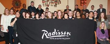Falls Radisson scores fourth straight President's Award