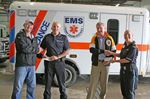 Parry Sound EMS toy drive donations