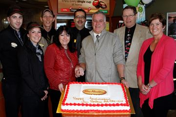 Tim Horton's Campbellford celebrates 20th anniversary