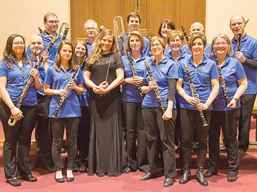 Clarinet choir to play for Midland audience
