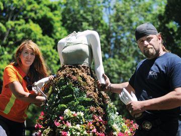 Oshawa Botanical Gardens Vandalism