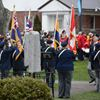 REMEMBRANCE DAY CEREMONIES, BRACEBRIDGE