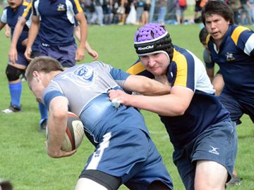 H.B. Beal Raiders took on the St. Mary Mustangs during the Tahi Teamwear High School Rugby Tournament, held Wednesday and Thursday (May 15 and 16), at St. George's Rugby Club fields.