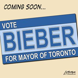 Patrick LaMontagne on Bieber for Mayor