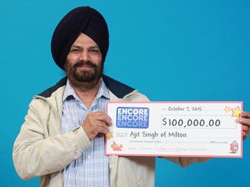$100,000 Encore winner