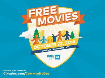 Cineplex Community Day