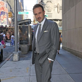 David Arquette and Christina McLarty 'fine' after row-Image1