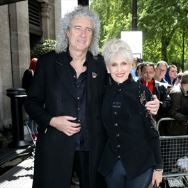 Brian May's pussy problem-Image1