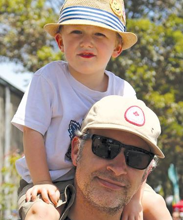 Dad cycles for son with muscular dystrophy