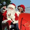 Whitby Santa parade Santa