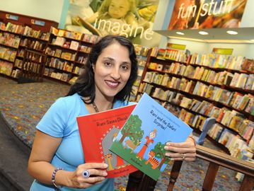 Author Anita Badhwar