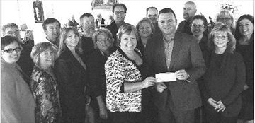 GR Business Networking group donates to Ottawa Food Bank– Image 1