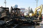 Fire destroys St. Dave's Diner