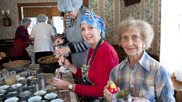 Taste of the holidays cooking at Port Colborne museum