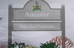 Proposed Ancaster sign honouring Ann Sloat