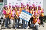 Women of Metroland help Build for Habitat for Humanity
