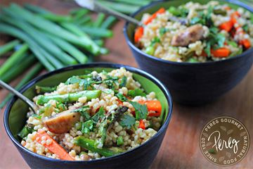 ginger vegetable couscous photo pereg gourmet grilled sesame ginger ...