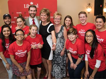 Pam Damoff secures Liberal nomination for Oakville North-Burlington riding