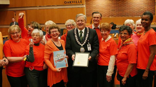 Oakville seeing Orange to eradicate gender violence